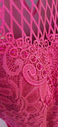 Vestido de festa G Rosa/Pink - Foto 5