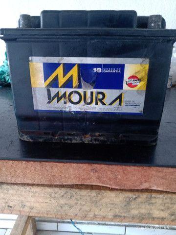 Bateria Moura 60 amperes usada 150$
