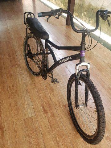 Bicicleta aro 26 caloi 21 marchas  - Foto 3