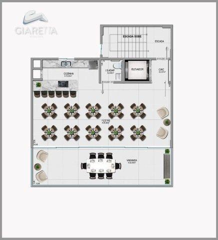 Apartamento á venda,115.00m², JARDIM LA SALLE, TOLEDO - PR - Foto 17