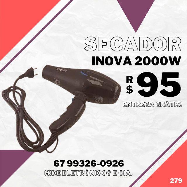 Secador iNova 2000W (entrega grátis)
