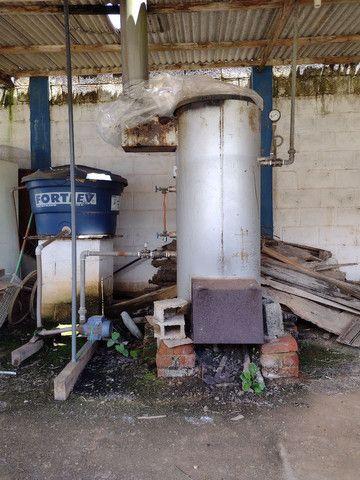 Caldeira vertical 30 kg/h