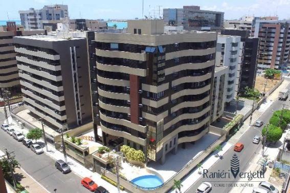 Apartamento 3/4 Ponta Verde - Nascente