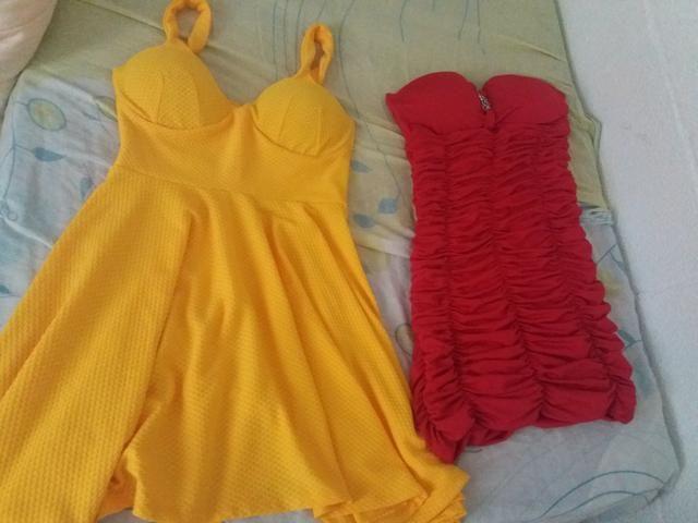 Vestidos R$ 80.00 (os dois)