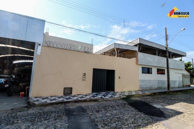 Casa residencial para aluguel, 2 quartos, 1 vaga, nossa senhora das graças - divinópolis/m - Foto 2