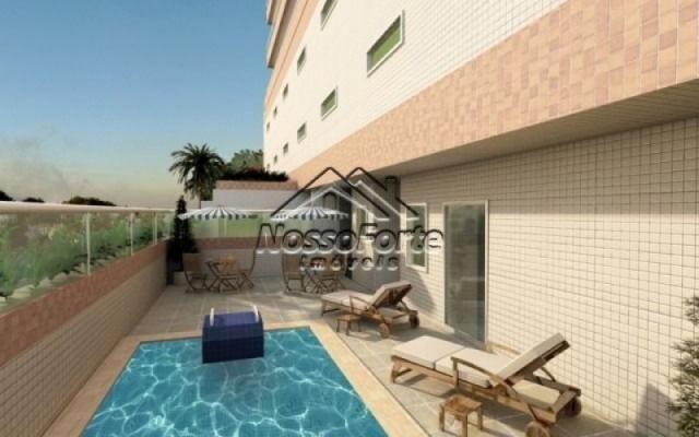 Apartamento na Vila Caiçara em Praia Grande - Foto 4