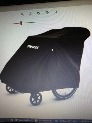 Tela contra insetos thule mesh covers para carrinho de bebê
