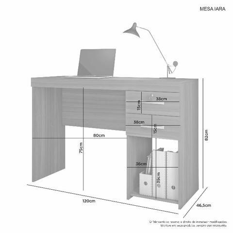 Conjunto Office Iara - Entrega Grátis - Foto 4