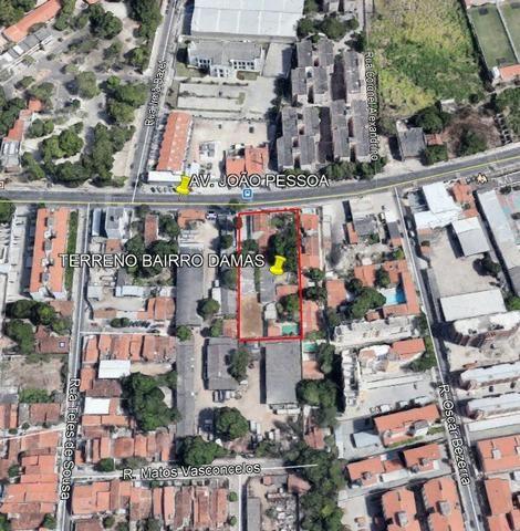 Terreno para Venda, Fortaleza / CE, bairro Damas - 3.382 Metros Quadrados