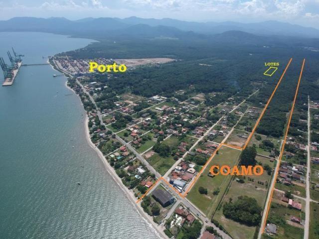 Terreno à venda para investimento, 288 m² por r$ 5.000,00 de entrada - bahamas i - itapoá/