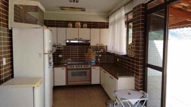Cobertura com 3 dormitórios para alugar, 256 m² por r$ 5.000/mês - canto do forte - praia  - Foto 2
