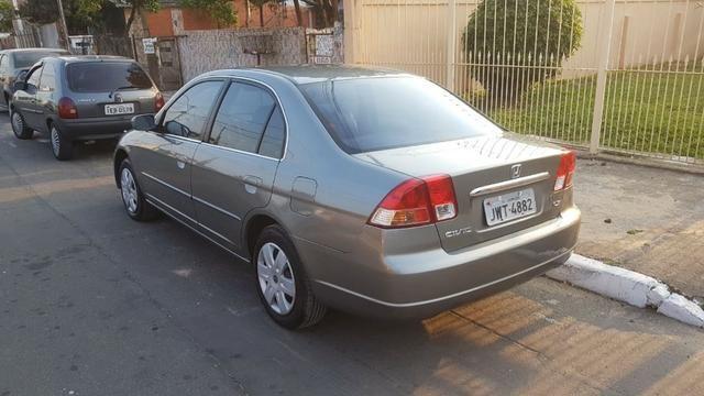 Honda Civic LX 1.7 2003 - Automático - Foto 3