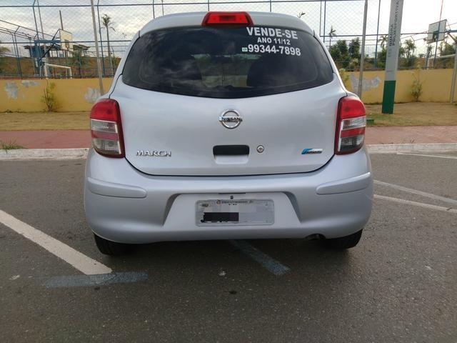 Nissan March 2011/12 Básico IPVA Pago - Foto 6