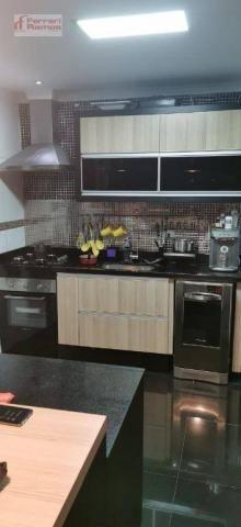 Apartamento com 3 dormitórios à venda, 95 m² por r$ 610.000,00 - vila augusta - guarulhos/