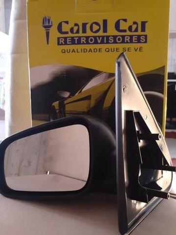 Retrovisor Gol/Parati/Saveiro 2 Portas G3 controle manual - Foto 3