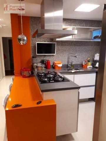 Apartamento com 3 dormitórios à venda, 92 m² por r$ 699.000 - vila augusta - guarulhos/sp - Foto 14
