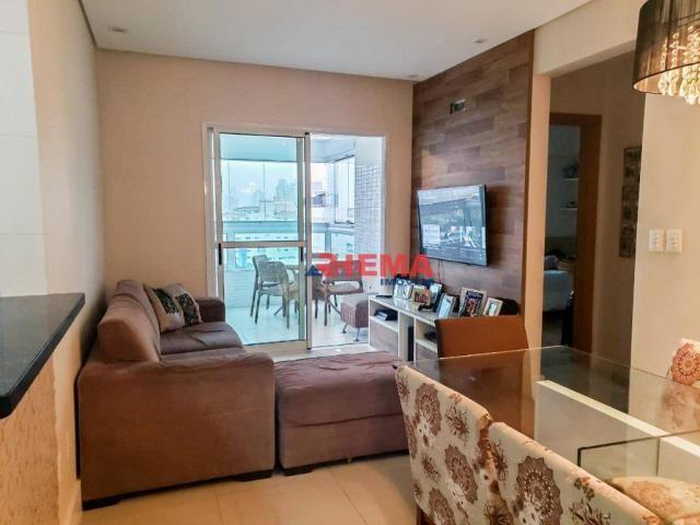 Apartamento com 2 dormitórios à venda, 64 m² por R$ 600.000,00 - José Menino - Santos/SP - Foto 8