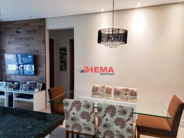 Apartamento com 2 dormitórios à venda, 64 m² por R$ 600.000,00 - José Menino - Santos/SP - Foto 4