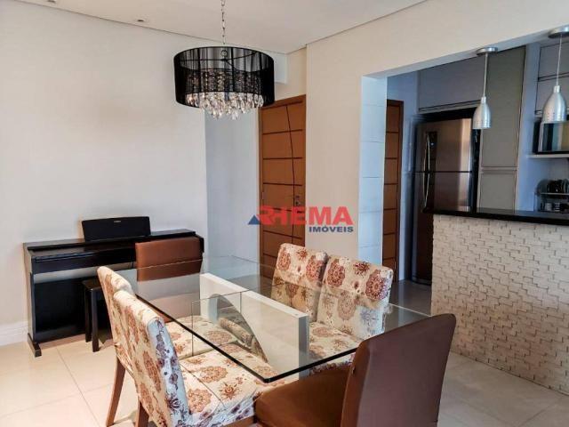 Apartamento com 2 dormitórios à venda, 64 m² por R$ 600.000,00 - José Menino - Santos/SP - Foto 2