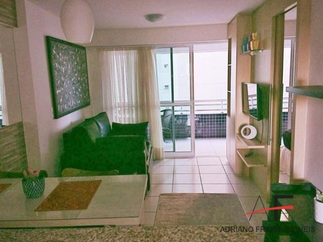 Apartamento todo mobiliado, no Beach Class Residence