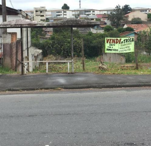 Vende-se terreno comercial Pinheirinho (direto com proprietário) - Foto 2
