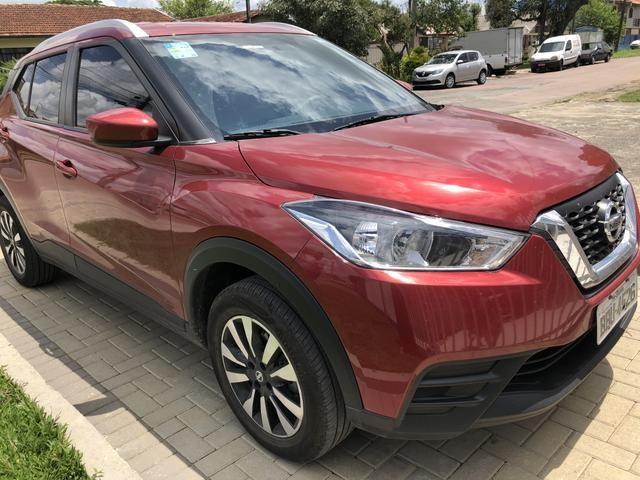 Kicks 2018 1.6 modelo S Flex Vermelho primeiro dono
