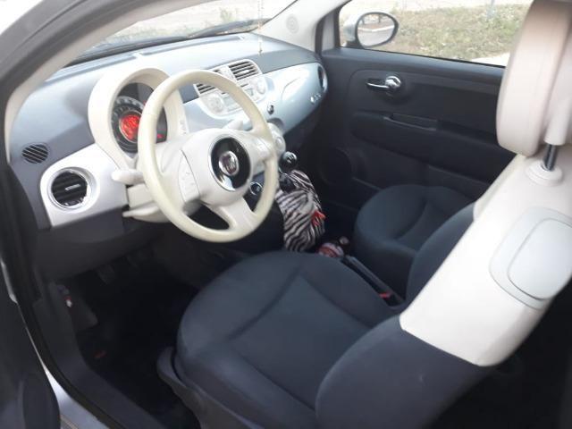 Fiat 500 única dona. 62mil km. Impecável - Foto 3