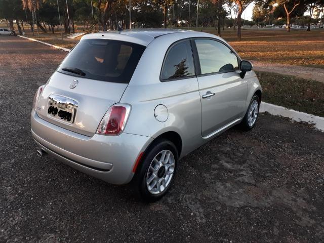 Fiat 500 única dona. 62mil km. Impecável - Foto 7