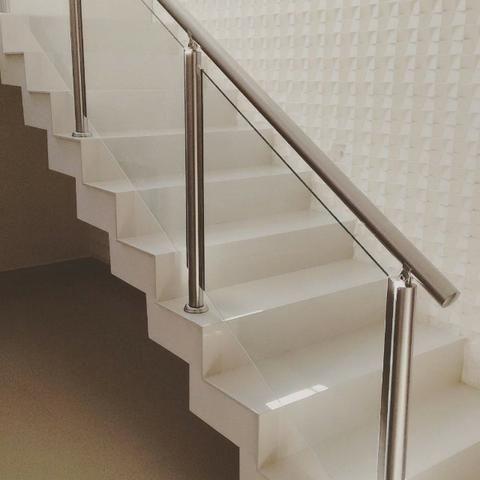 Corrimão. Guarda corpo .Escadas Todos os modelos e projetos predios ou casas - Foto 5