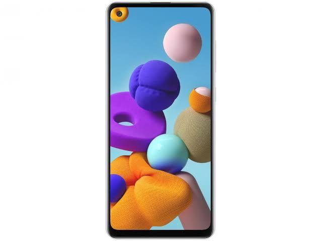 Samsung Galaxy A21s Dual SIM 64 GB branco 4 GB RAM
