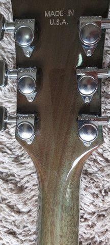 Guitarra Gibson Les Laul Custom CHINA BRAÇO COLADO - Foto 5
