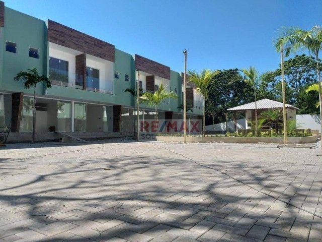 Village Cond. Arecace Imbassai com 2 suítes, 70 m² por R$ 400.000 - Imbassai - Mata de São