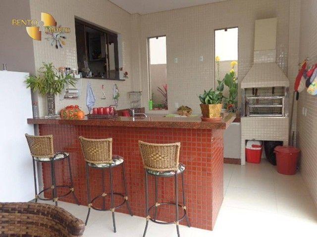 Casa com 5 dormitórios à venda, 490 m² por R$ 2.200.000,00 - Condomínio Florais Cuiabá Res - Foto 5
