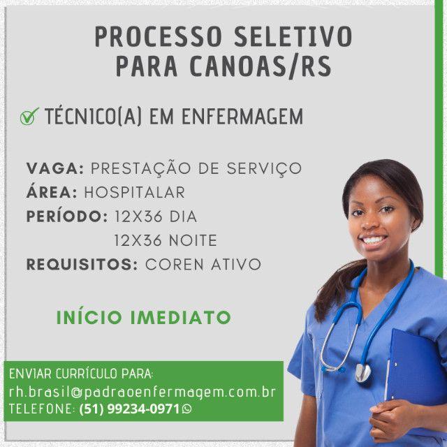 Técnico(a) de Enfermagem