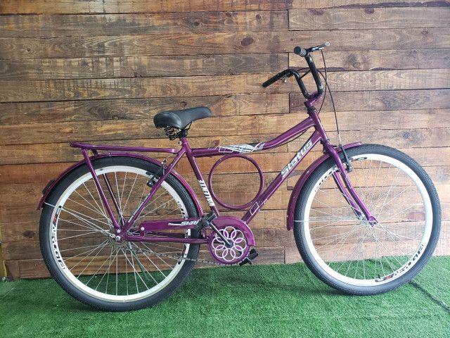 Bicicletas Barra Circular - Status Bike  - Foto 3