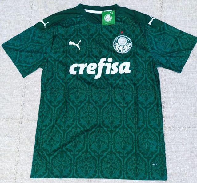 Camisa do Palmeiras Puma 2021 Original Importada Entrego - Foto 2