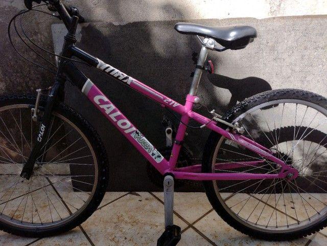 Bike Caloi feminina 24  - Foto 2