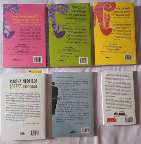 Livros Coleção - Martha Medeiros - 6 livros - Foto 4