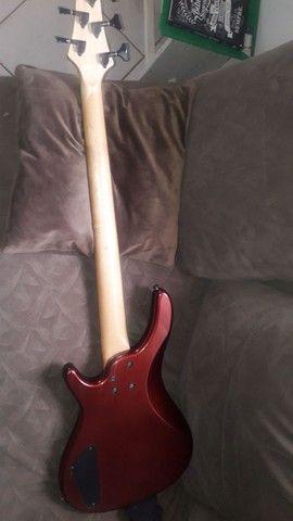 Troco esse contrabaixo fretless passivo por guitarra do mesmo valor  - Foto 6