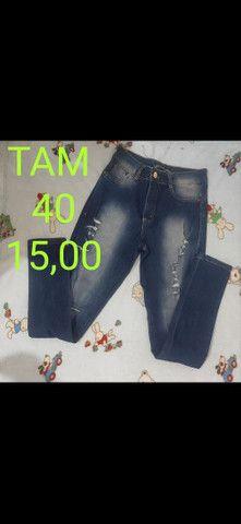 Calças jeans desapego - Foto 4