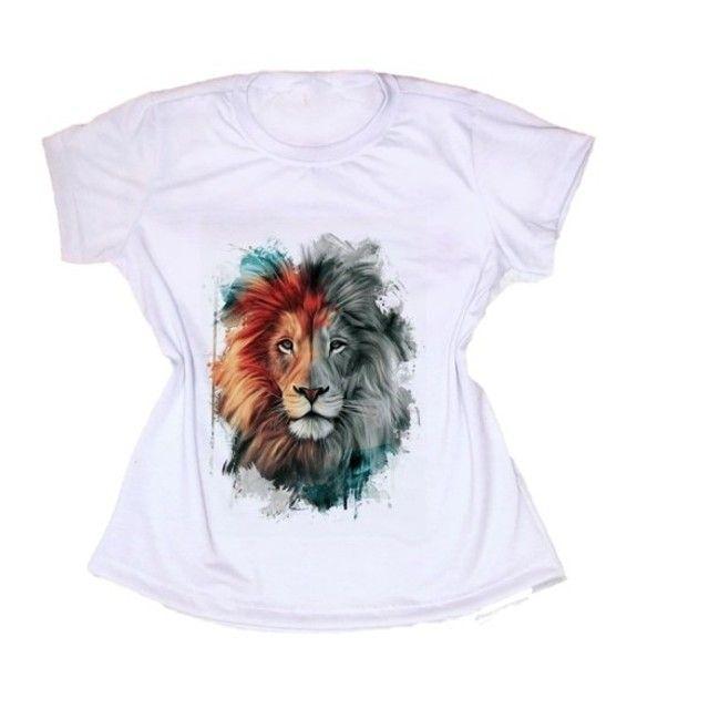 Camiseta Camisetas  T-shirt   Baby Look Feminina Blusa ou  Escolha a Sua Estampa