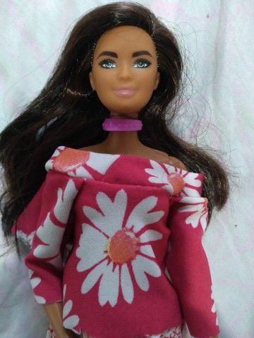Boneca barbie  negra - Foto 4
