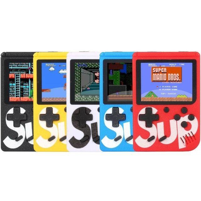 Mini Vídeo Game Boy Portátil Sup 400 Jogos Retrô Nitendo - Foto 3