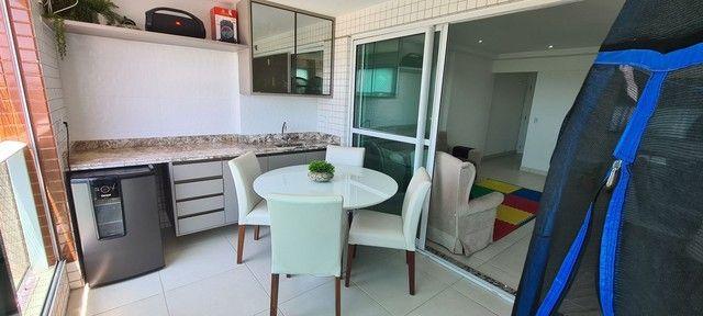 Excelente Apartamento Andar Alto com 3 suítes 141 m2 Lagoa Nova  - Foto 3