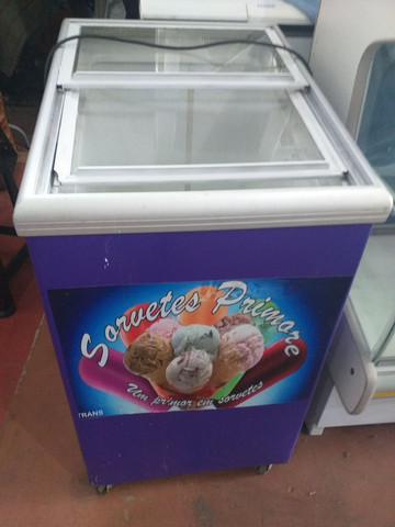 Frezer para sorvete
