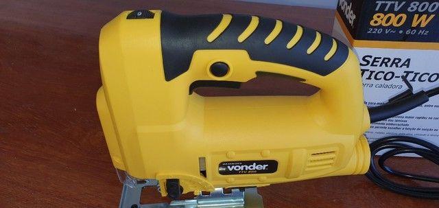 Serra tico tico 800 watts capacidade de corte 80 mm - TTV800 - Vonder - Foto 2