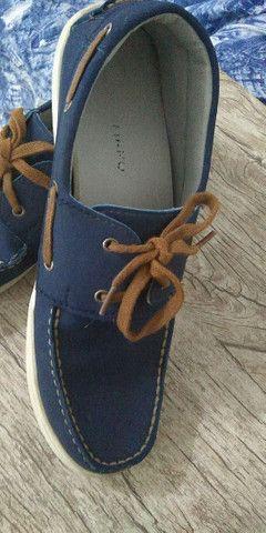 Sapato masculino tamanho 39 semi novo - Foto 4