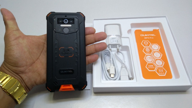 Smartphone Oukitel Wp5 Pro 8000mah Android 10 4gb/64gb - Foto 5