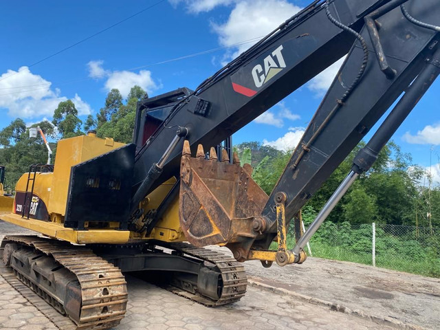 Escavadeira Caterpillar 320D novíssima raridade diferenciado - Foto 2