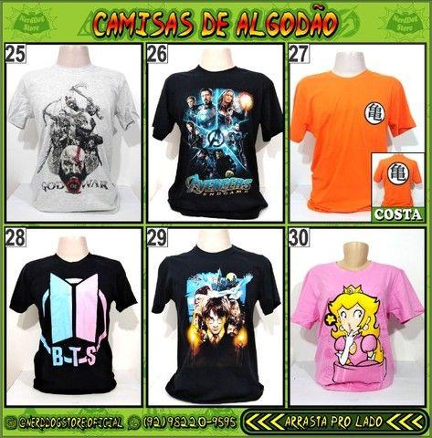 Camisas NerdDog Store - Coleção Geek (parte 1) - Foto 5